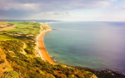 The Easy Way to Walk to Golden Cap Jurassic Coast Dorset