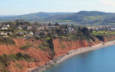 Coast Path Walk from Seaton to Beer