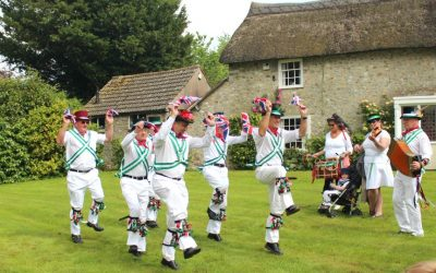 Traditional English Summer Village Fetes in the West Country