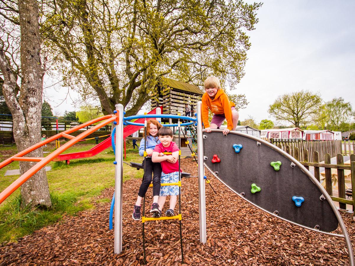 Andrewshayes Holiday Park play park