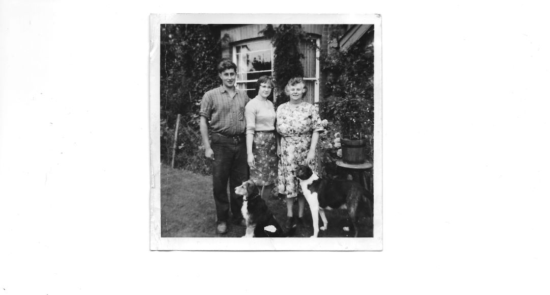 Harry, Stephanie, Marjorie Lawrence at Andrewshayes 1963
