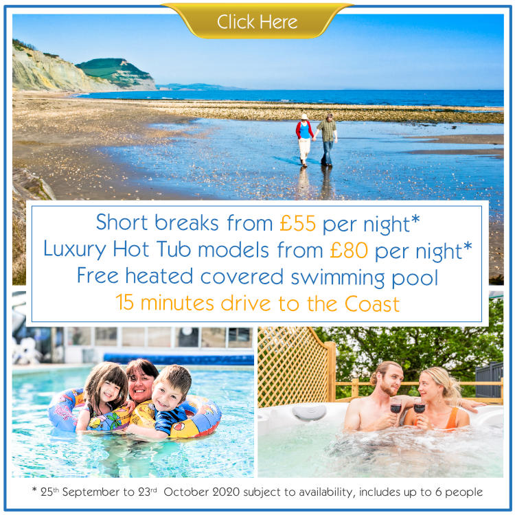 Short Break Offer holidays at Andrewshayes Holiday Park East Devon