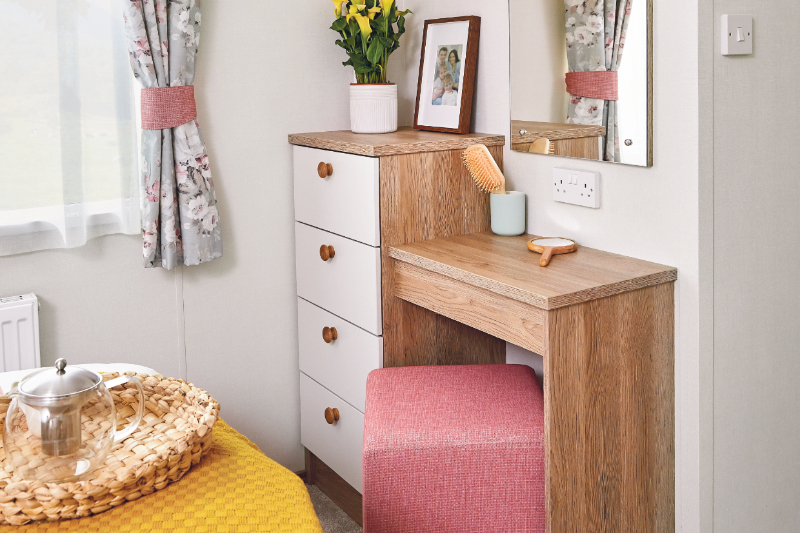 Andrewshayes Beech 2 VIP Bed - Main Bedroom Table