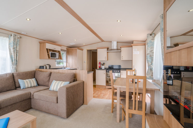 Andrewshayes Beech VIP 3 Bed - Lounge Dinning Area