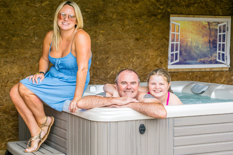 Andrewshayes Oak VIP 3 Bed - Hot Tub Relaxing