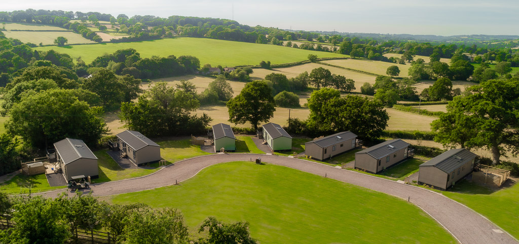 Andrewshayes-Orchard-Lodge-Static-Caravan-Holiday-East-Devon-Hot-Tub-Drone-2